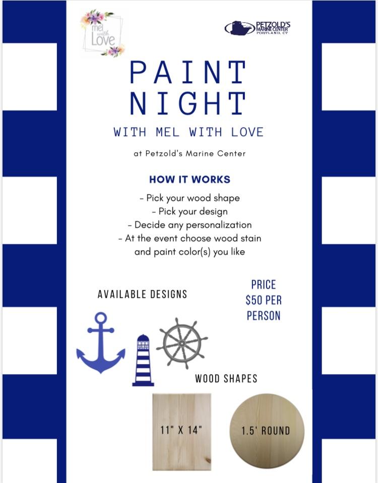 paint night info