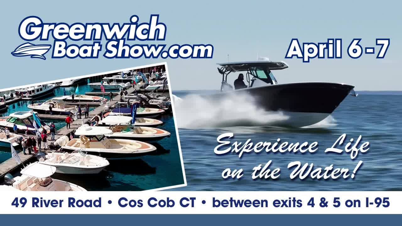 Greenwich Boat Show banner