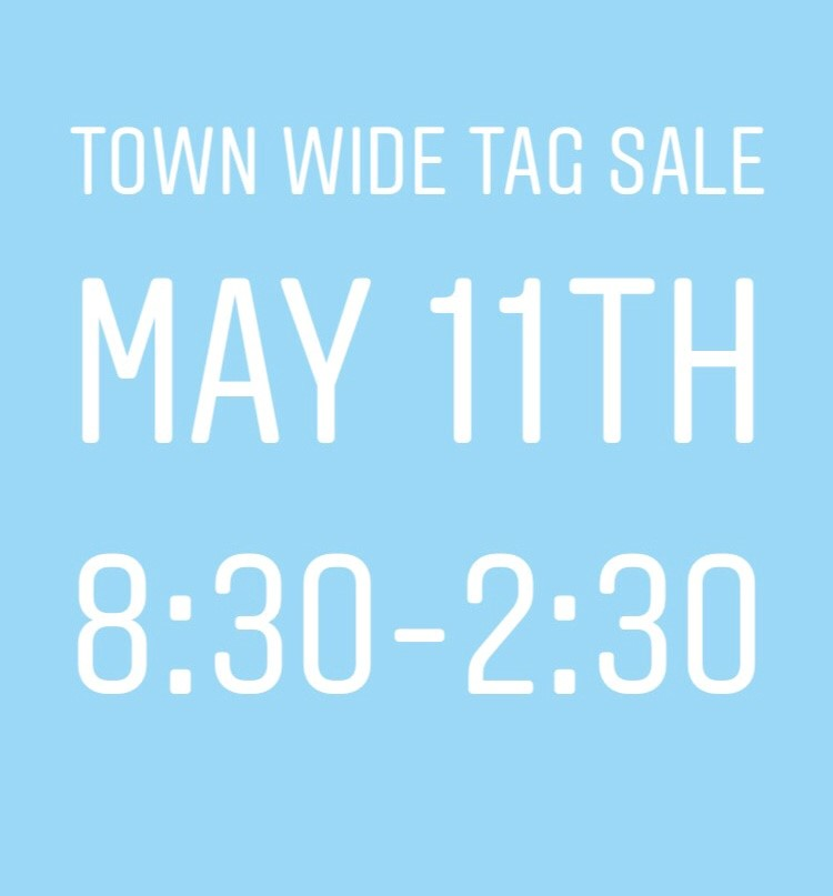 tag sale may 11th